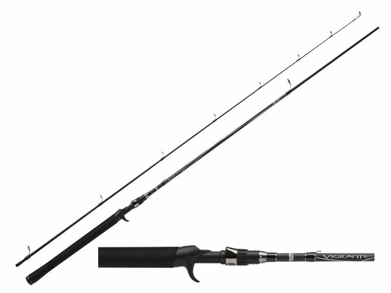 Abu Garcia VIGILANTE Spin CAST Rods - All Models