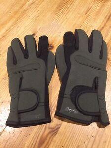 Deerhunter-Neoprene-Shooting-Hunting-Gloves-S-M