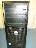 Dell Optiplex TOWER 780 INTEL QUAD CORE 2.66ghz 6GB DDR3 Ram DVDRW NO HDD)