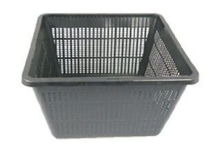 9-034-Square-Pond-Plant-Basket-x-2pcs-Micro-Holes-for-great-Waterflow-Great-Value