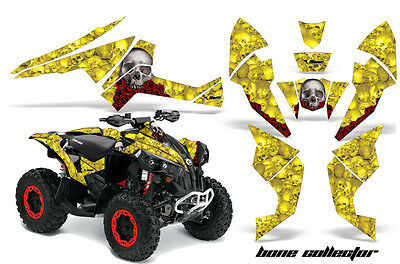 ATV Decal Graphics Kit Quad Wrap For Can-Am Renegade 500 X/R 800X/R 1000 BONES Y