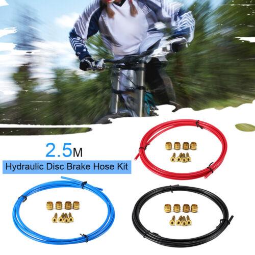 2.5M Bike Hydraulic Hose BH59 Olive Insert Set Bike Oil Brake Hose V5A3