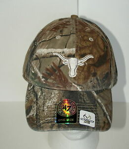 47-Brand-Baseball-University-of-Texas-Long-Horns-Camo-Football-Cap-Hat-New-1-sz