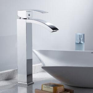 Robinets salle de bains cascade lavabo mitigeur vestiaire chromé ... 85f6c8ef22e9