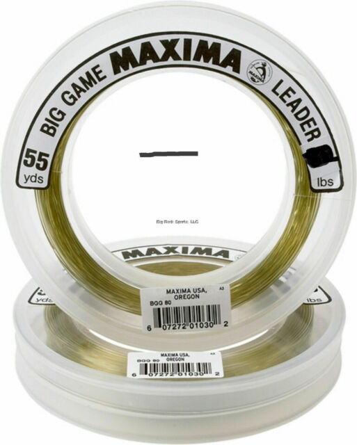 Maxima Ultragreen Fly Fishing Leader//Tippet Material 4x 4lb