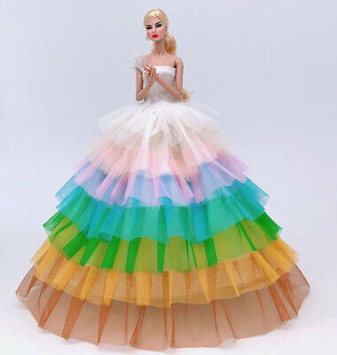 Fashion Royalty Princess Party Dress//Clothes//Gown For 11.5in.Doll Y152