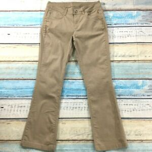 Lee-Riders-Womens-Jeans-size-14-Long-Tall-x34-034-Tan-Beige-Bootcut-Cotton-Stretch
