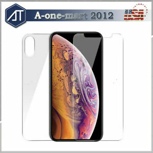 For-iPhone-11-11Pro-Max-Front-and-Back-9H-Tempered-Glass-Screen-Protector-Film