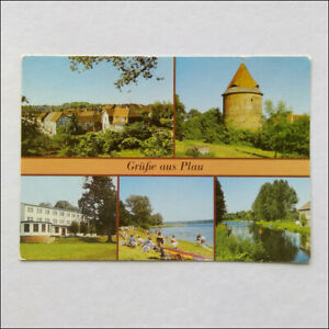 Greetings-from-Plau-5-Views-Postcard-P372