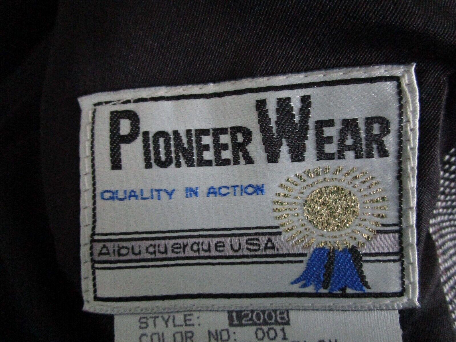 Vintage Pioneer Wear Western Suit Jacket Blazer B… - image 6