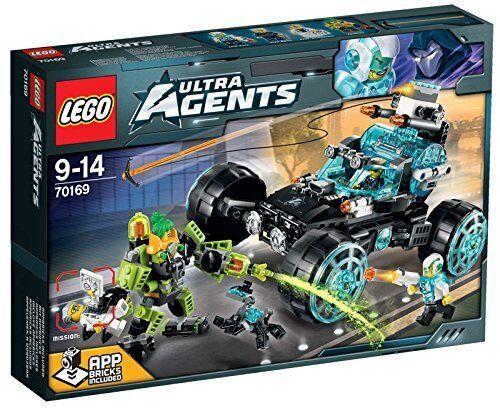 Agentes secretos en el uso secreto - LEGO ULTRA AGENTS 70169 - NUEVO