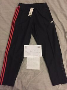 6c0ddc605125 Kith X Adidas Soccer Season 2 3-Stripes Track Pants Black Size Large ...