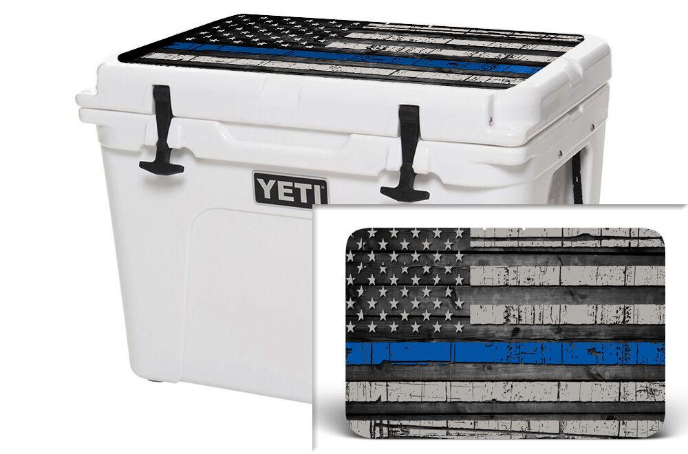 USATuff Wrap Skin Lid Kit fits YETI 75qt Cooler -  Sale - USA blueeline Flag