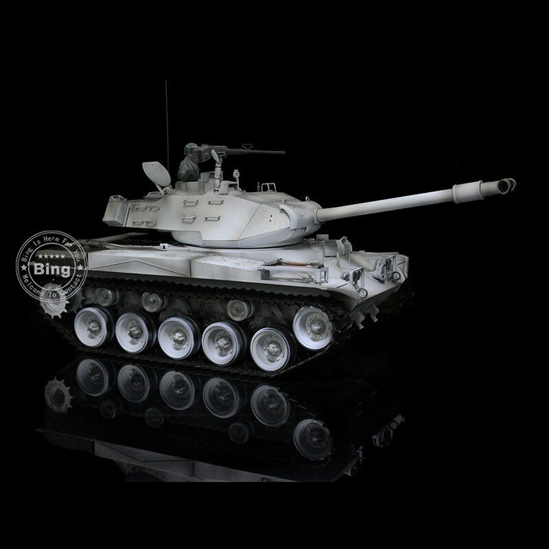 HengLong 1 16 Scale Winter Snow Upgraded Metal USA Walker Bulldog RC Tank 3839-1