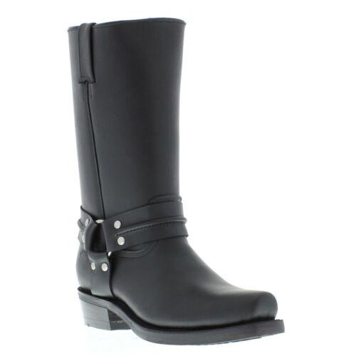 Grinders Boot Bikers Western Renegade nero Hi Cowboy stivali High Leather Unisex rwg6rxH