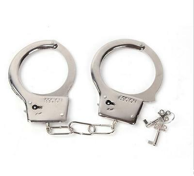 DI CA Creative police handcuffs  toy with Double Lock Keys