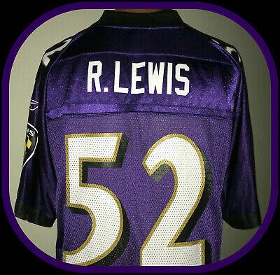 Ray Lewis Baltimore Ravens Reebok en campo Jersey Replica ...
