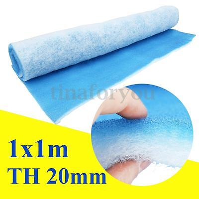 """Paint Shop Car Spray Atomize Booth Air Filter Material 39""""x39"""" Thickness 20mm"""