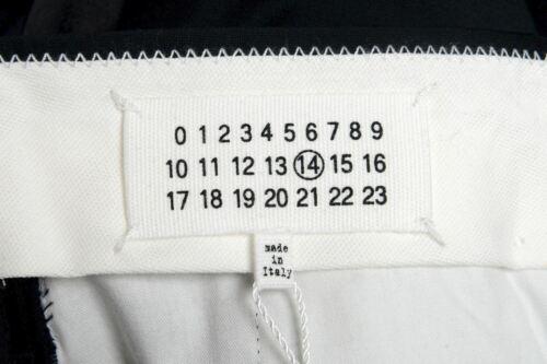 Maison Margiela 14 Men/'s 100/% Wool Black Tuxedo Dress Pants Size 30 32 34 36 38