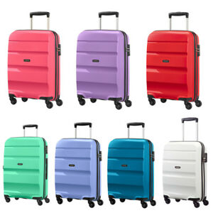 9f2e179855b3 Details about American Tourister Bon Air Suitcases Small Medium Large  Spinner Wheels FREE P&P