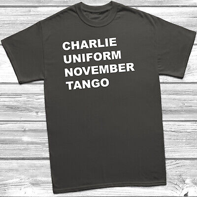Charlie Uniform November Tango Funny /& Rude Cushion Cover Home Decor Gift