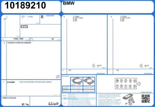 Cylinder Head Bolt Set BMW 318i 16V 2.0 143 N42B20A 9//2001-2//2005