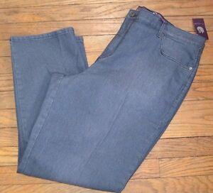 e87ab898c05 Image is loading Gloria-Vanderbilt-Amanda-Jean-Grey-Twilight-Jeans-Ultimate-