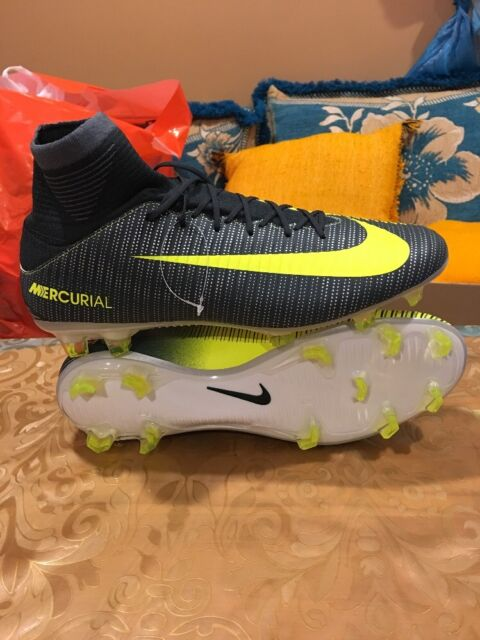 60bfc8029b4 NEW NIKE MERCURIAL VELOCE III DF CR7 FG SOCCER CLEATS (852518-376) Men s