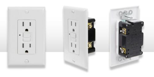 Westgate GFCI Outlet 15 Amp White 10 PACK