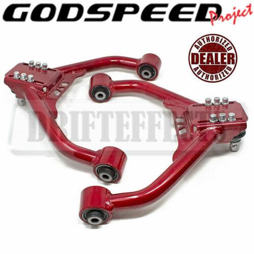 Godspeed Adjustable Front Upper Rear Camber Kit For 2008-13 G37 Coupe//Sedan