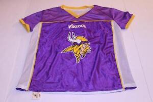 Youth Minnesota Vikings L Reversible Jersey BD Jersey | eBay