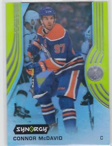 19-20-SYNERGY-CONNOR-McDAVID-GREEN-PARALLEL-CARD-1-OILERS