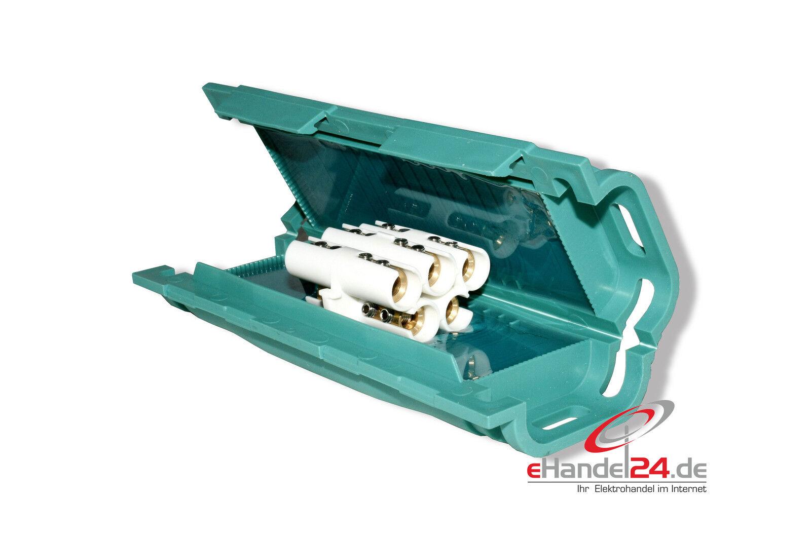 Kabel Leitung Reparatur Verbindungsmuffe bis 5 x 16 mm²   Zart