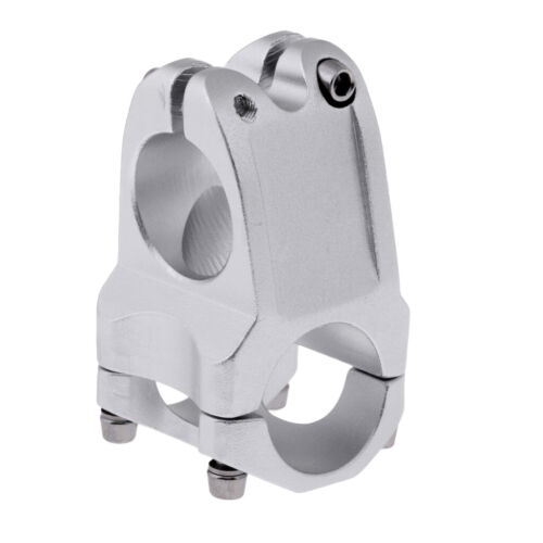 Adjustable 31.8mm 5 Degree Cycling Mountain Bike Short Handlebar Stem Riser
