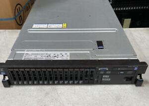 IBM SYSTEM X3650 M4 2.7GHz E5-2680 SFF SERVER.  No HDD, No RAM