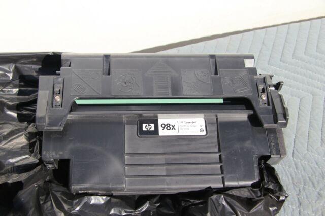 HP GENUINE/ORIGINAL 98X 92298X BLACK LASER PRINT TONER CARTRIDGE