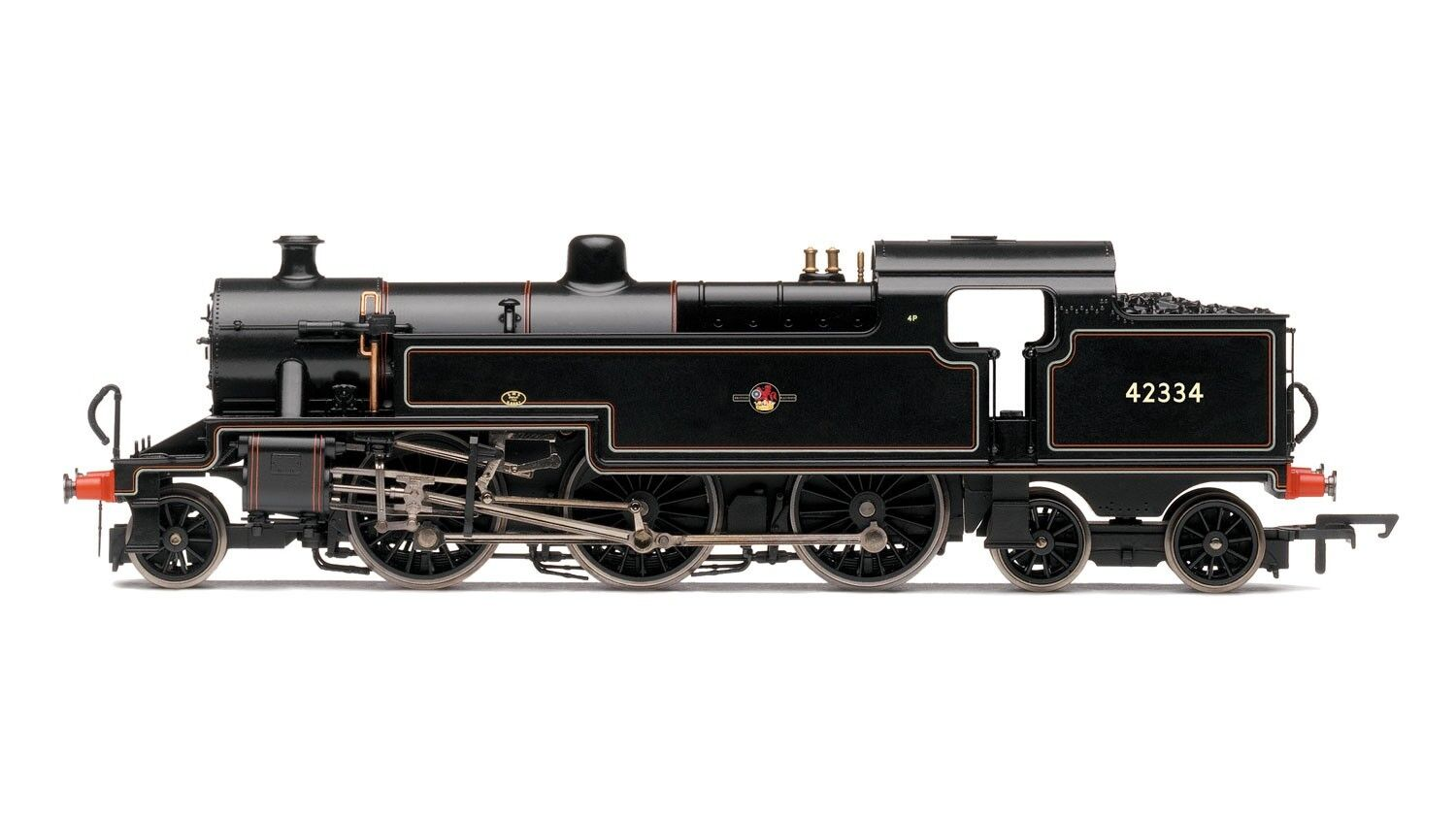 """Hornby R3404, BR 2 -6 -4T """"42334 """" Fowler 4P"""