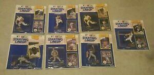 1990 Baseball 7 Starting Lineup SLU Lot Nolan Ryan Jose Canseco Strawberry Clark