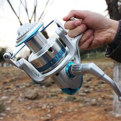 Spinning Fishing Reel 7+1BB SB11000 Metal Saltwater Fishing Reels High Speed