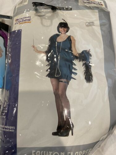 20s flapper dress With Blonde Wig - image 1