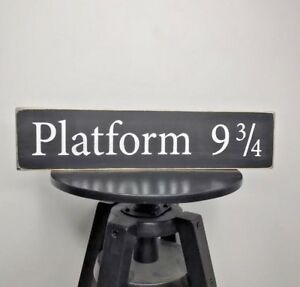 picture about Platform 9 3 4 Sign Printable identify Info in excess of Harry Potter System 9 3/4 Cost-free Popularity/Wall Hung Wood Indication/Plaque Hand Generated