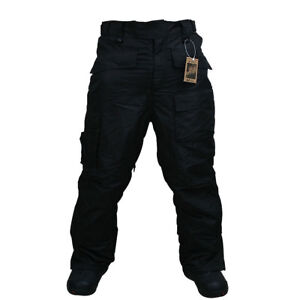 Korea-Shop-Southplay-Mens-Waterproof-Military-Ski-Snowboard-Pants-Black-Sale