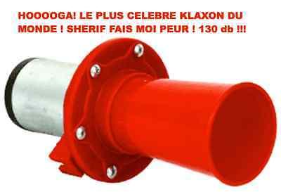 PROMO HOOOOGA!12V 110DB LE PLUS CELEBRE KLAXON DU MONDE BEAU ET PUISSANT !!!