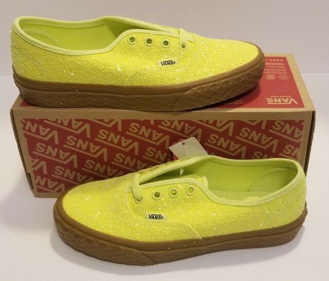 VANS Authentic Ice Cream Glitter Yellow