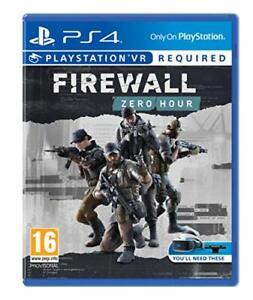 Pare-Feu-Zero-Heure-PS4-VR-Neuf-Scelle