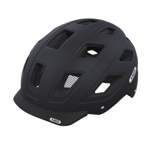 Abus City Urban BMX Fahrradhelm Hyban black-velvet GR:52-58 cm