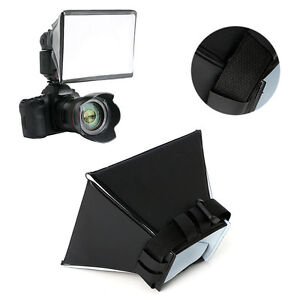 Foldable Studio Umbrella Softbox Flash Diffuser Dome for Canon Nikon Sony Pentax