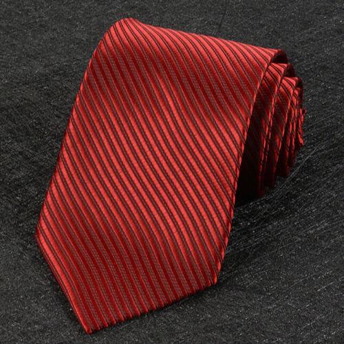 Jacquard Woven New Fashion Classic Striped Tie Men/'s Silk Suits Ties Neck TuBWU