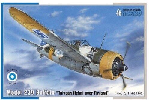Special Hobby 1 48 Buffalo Model 239 Taivaan Plastic Model Kit 48180 SHY48180