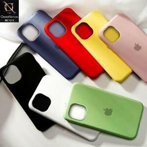 Cover Custodia In Silicone Originale Per Apple iPhone 11 12 Pro Mini Max